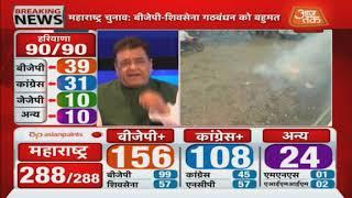 Election Results  2019: Maharashtra-Haryana के नतीजों में अभी कौन है आगे, कौन है पीछे ?