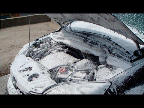 Как НЕ НУЖНО мыть двигатель!