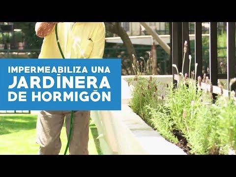 C mo impermeabilizar una jardinera de hormig n youtube - Jardinera hormigon ...