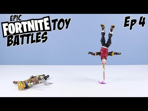 Epic Fortnite Toys Battles Episode 4: Battle Hound Vs. Drift