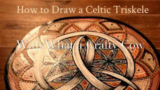 How To Draw A Celtic Triskele