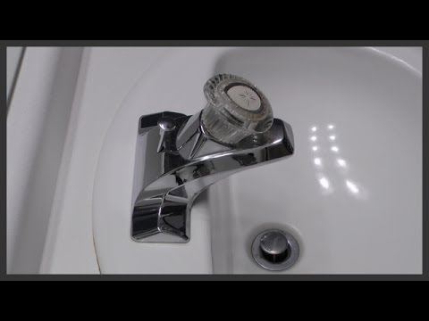 Bathroom faucet cartridge replacement - YouTube