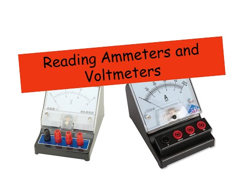 Ammeters and Voltmeters - IGCSE Physics