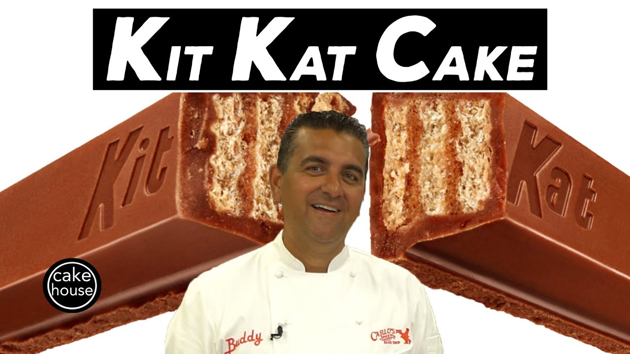 Download The Cake Boss's HUGE Kit Kat Cake | Cool Cakes 23