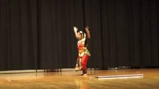 Shiva shiva shankara- Maansi's semi classical dance performance at Samskruthi 2017