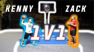 1v1 Basketball Challenge Against ZACKTTG from 2HYPE!