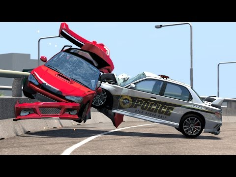 Thumbnail: Realistic High Speed Crashes #18 - BeamNG Drive