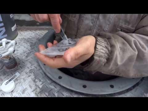 鉄,タンクのクラック,亀裂修理できる?溶接せず修理,漏れ止め補修?DIYで4