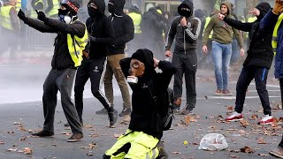 Gelbwesten-Festnahmen in Brüssel: