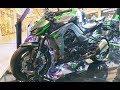 Kawasaki Z1000R [ Black / Gray / Green ]