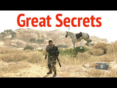 Greatest Stunts With Supply Box in Metal Gear Solid V: Phantom Pain (MGSV)
