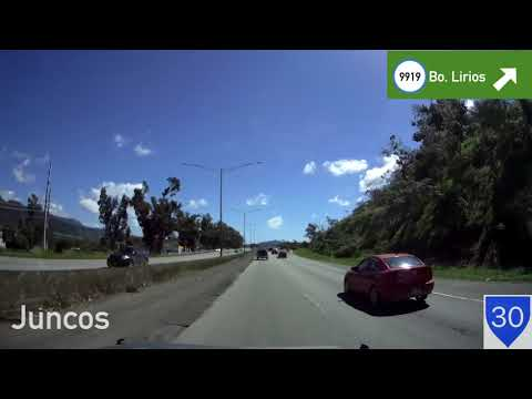 Driving In Puerto Rico - Caguas To Humacao (PR-30 East)