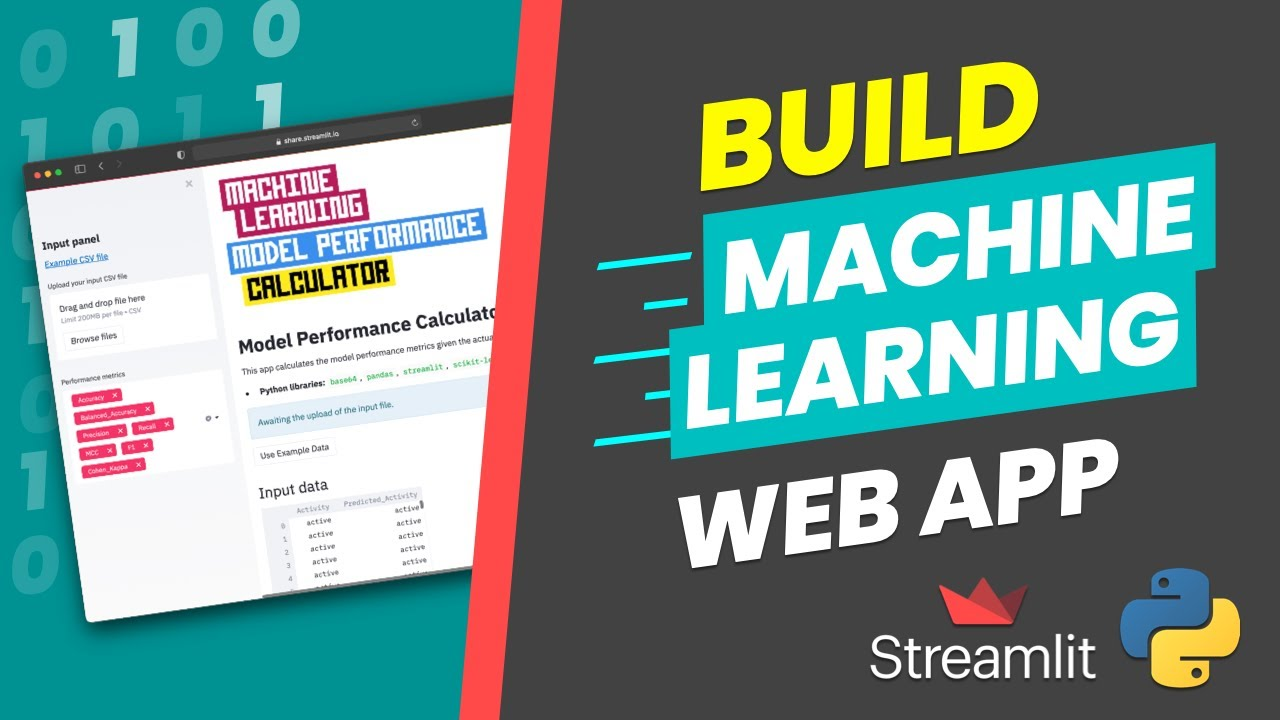 How to Build a Machine Learning Model Performance Calculator App