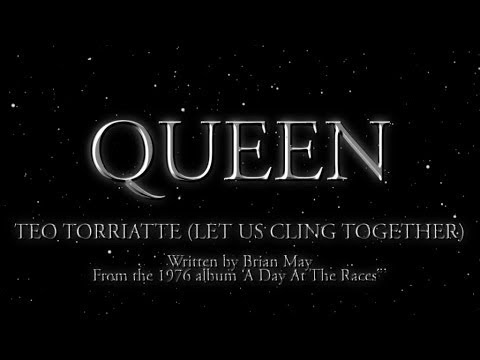 Queen - Teo Torriatte (Let Us Cling Together) - (Official Lyric Video)
