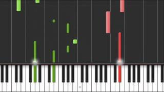 "How to play ""Enya - Watermark/Waterfall"" on piano"