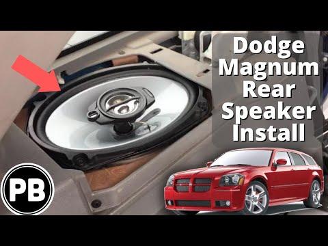 2005 - 2008 Dodge Magnum Rear Speaker Install - YouTube