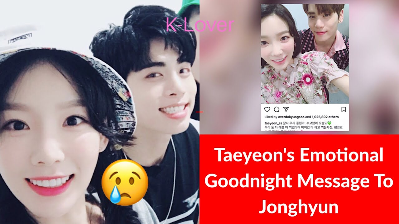 jonghyun dating taeyeon leslie hookup kit