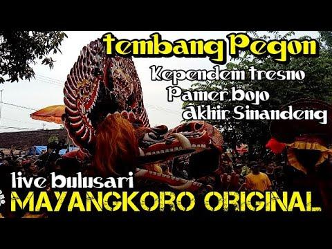 Tembang Jaranan Bikin Baper Mayangkoro Original Terbaru Live Bulusari Tarokan