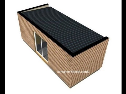 33 0 6 30 66 78 63 container cabanes chantier for Container bois occasion