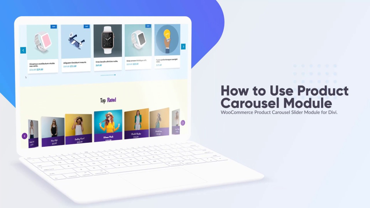 How to Use Divi Product Carousel Module