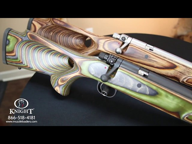 Muzzleloaders by Knight Rifles - The 45 Cal 1:20 Twist Mountaineer