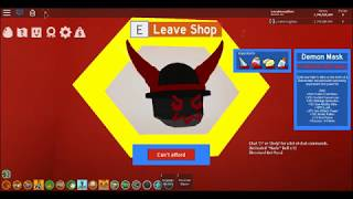 Bee Swarm Simulator, Roblox, the Demon mask´s location