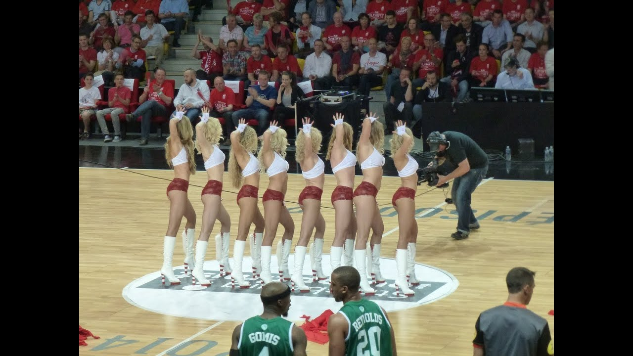 ReD Foxes performance at the LNB Finales-2014 in Strasburg
