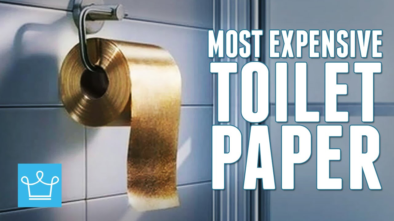 Most Expensive Toilet Paper In The World YouTube