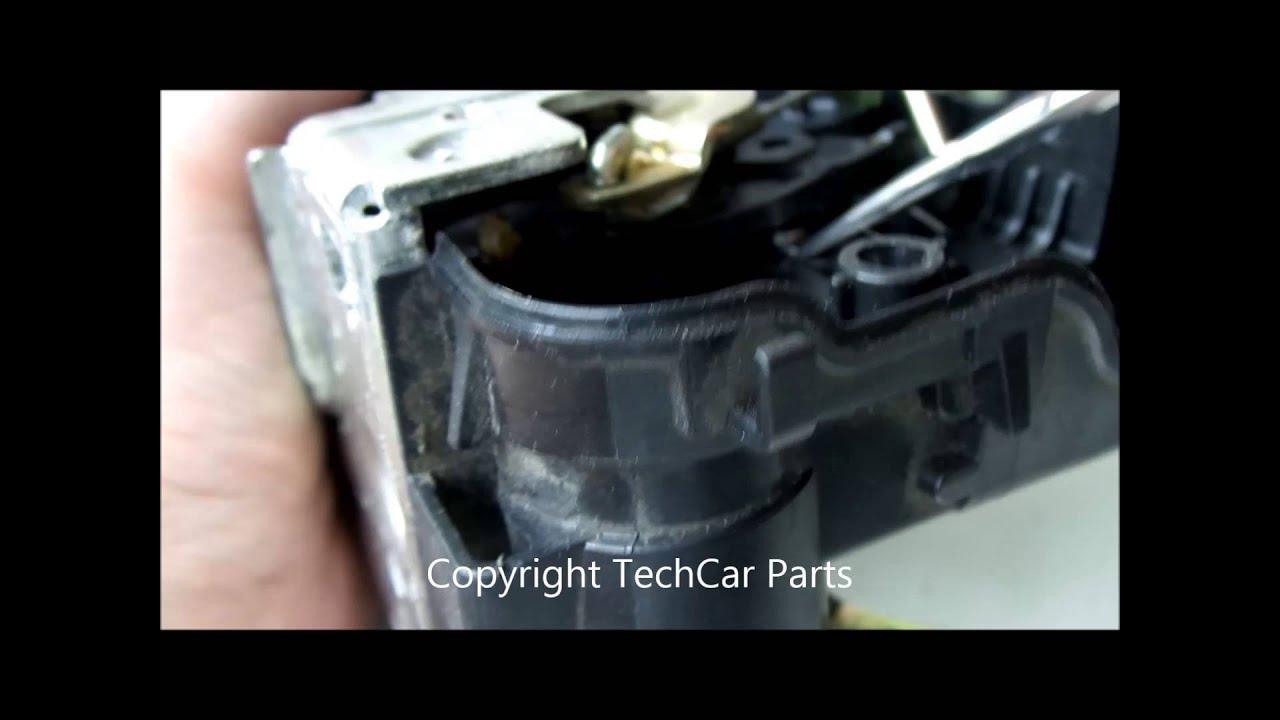 Mercedes w203 w211 door lock actuator repair reparacion for Mercedes benz ml350 door lock actuator
