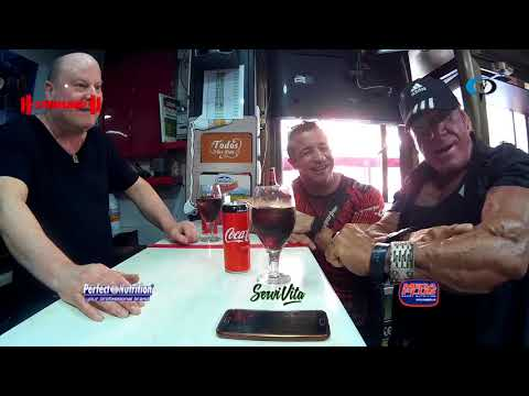 Hoy estamos en el bar con Toni y Forte   Cuerpos Perfectos TV HD