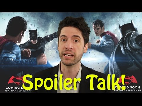 Batman v Superman: Dawn of Justice – SPOILER Talk