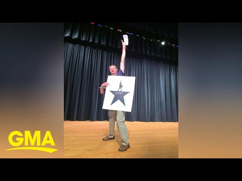 Brian Price - Good News: Students Surprise History Teacher With Hamilton Tickets