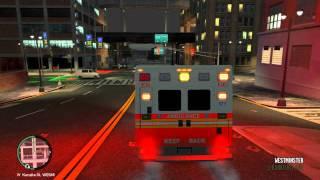 GTA4 PC | EMS Responding to Officer Down