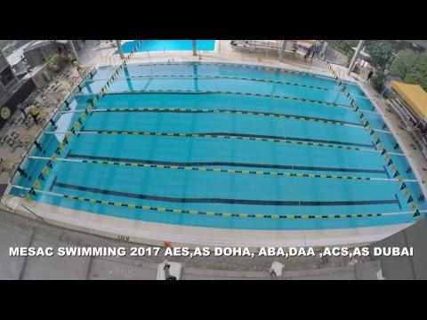 MESAC Swimming 2017 Friday a.m