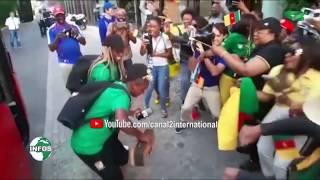 COUPE DU MONDE DE FOOTBALL FÉMININ: ACCUEIL DES LIONNES INDOMPTABLES A MONTPELLIER
