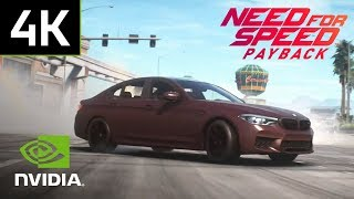 "Need For Speed Payback: ""The Gamescom BMW Race"" PC Gameplay - 4K 60 FPS"
