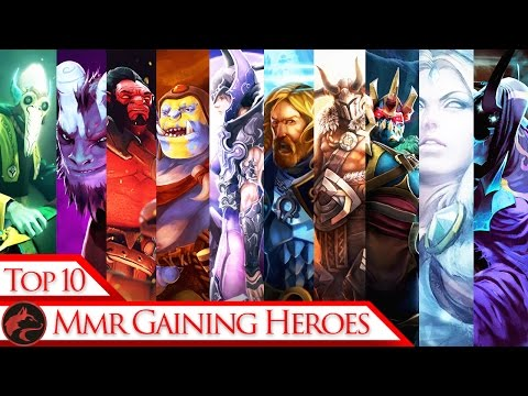 Top 10 Best MMR gaining Heroes in Patch 7.01 for 1-2K MMR skill bracket Dota 2 Players