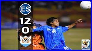 El Salvador [12] vs Anguilla [0] : 2.6.2008 : WCQ2010
