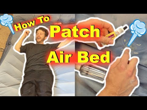 How To Find Patch Hole In Air Bed Mattress Jonny Diy Youtube