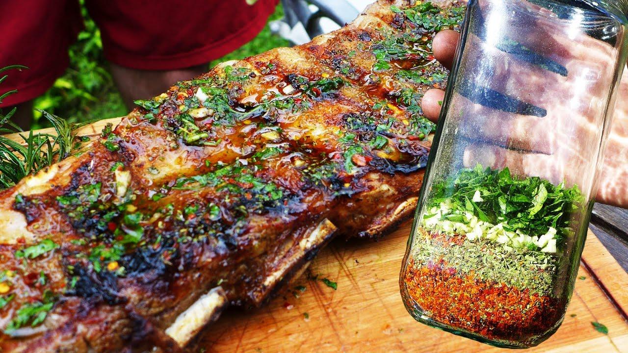 receta de asado argentino
