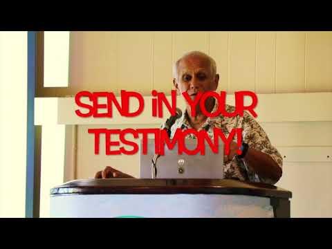 LEGALIZE Cannabis! Senator Mike Gabbard asks for your testimony!