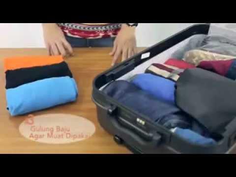 Tips Cara Packing Rapi Sebelum Berangkat Bepergian/Liburan