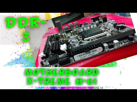 X-TREME MAINBOARD H61 1155 (DDR3), MOTHERBOARD XTREME H61 / SOCKET LGA1155 / FOR INTEL