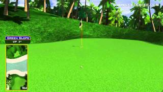 Golden Tee Great Shot On Tahiti Cove!