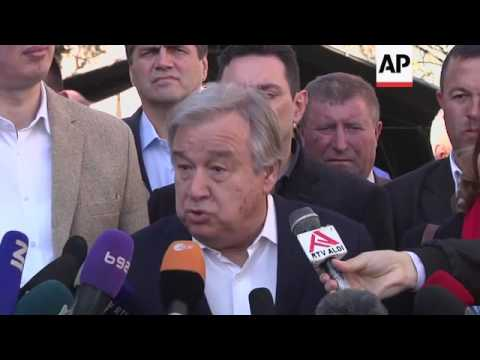 Guterres: don't blame migrants for extremism