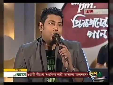 Sojoni Ami Tomay Vulini  | Protik Hasan | New Live