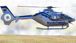 Helicopter Eurocopter EC 135 T2 Landing Video
