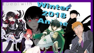What Anime To Watch For Winter 2018 | 12 Days of Anime: 1