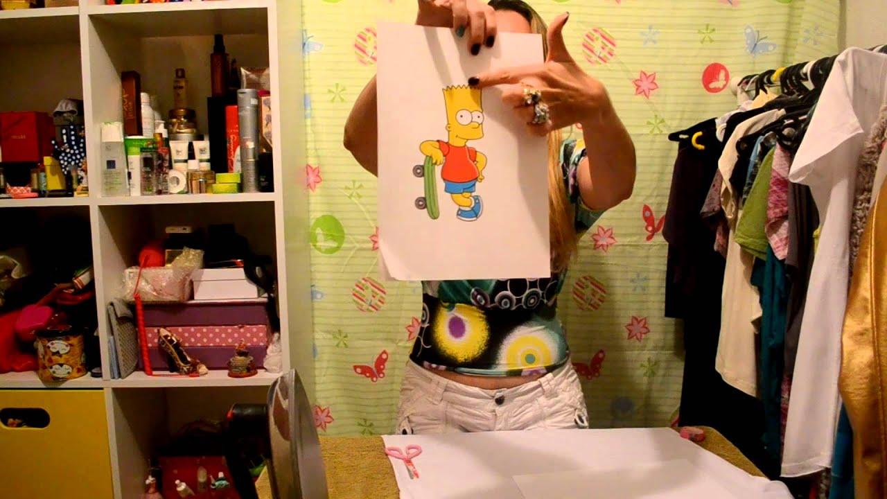 Customizando camisetas papel transfer youtube - Papel de transferencia para plancha ...
