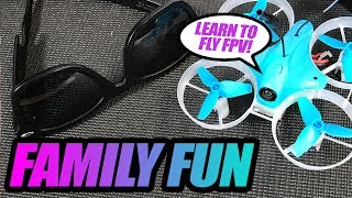 Family Friendly FPV Racing - Lieber Zulu Mini Fpv Racer - Review, Flights, Pros & Cons